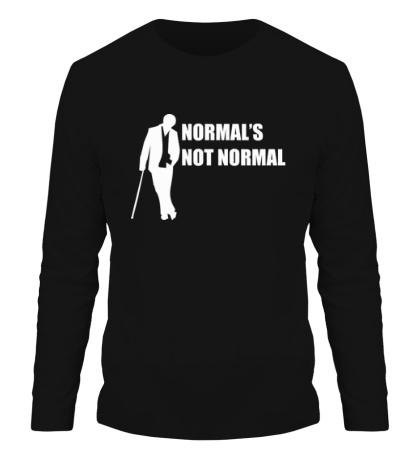 Мужской лонгслив Normals not normal