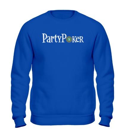 Свитшот Party poker