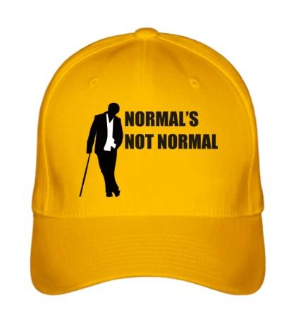 Бейсболка Normals not normal