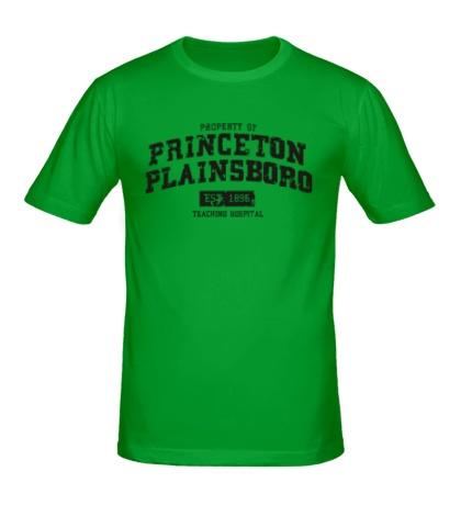 Мужская футболка Princeton Plainsboro