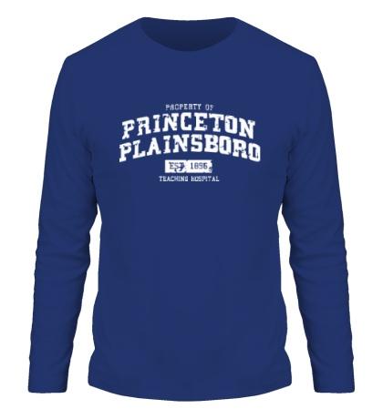 Мужской лонгслив Princeton Plainsboro
