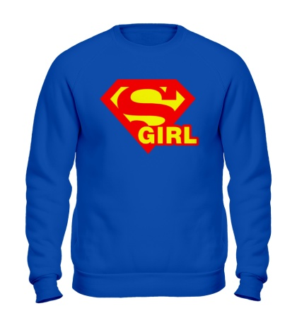 Свитшот Supergirl