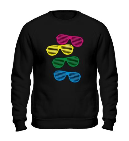 Свитшот Разноцветные очки