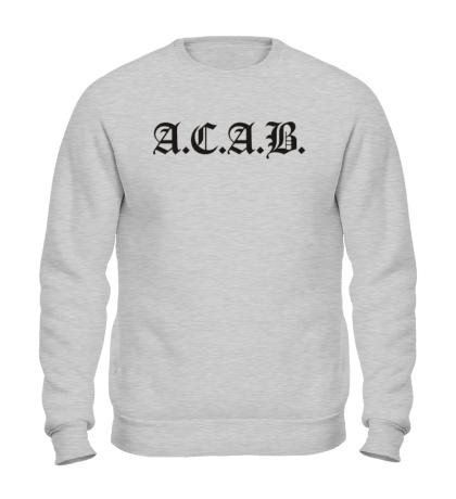 Свитшот A.C.A.B Fans