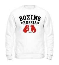 Свитшот Boxing Russia Time