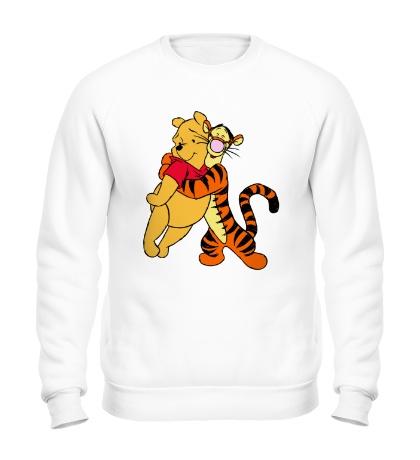 Свитшот Винни Пух и Тигра