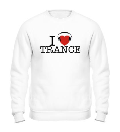 Свитшот I Listen Trance