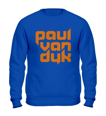 Свитшот Paul van Dyk