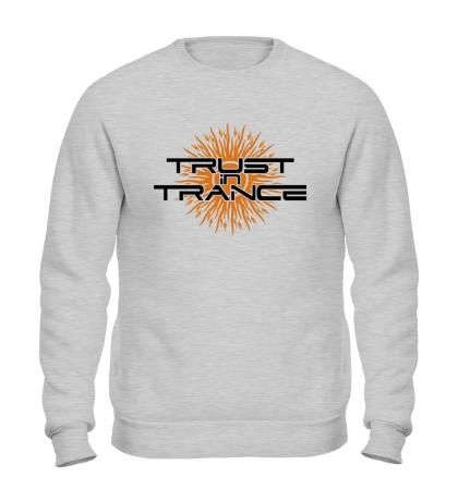 Свитшот Trust in trance