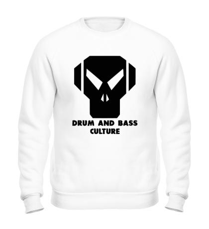 Свитшот Drum and Bass culture