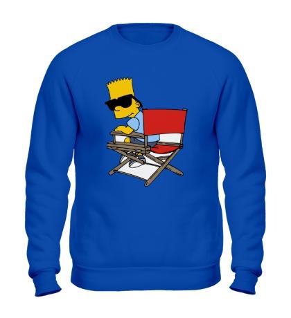 Свитшот Барт в очках