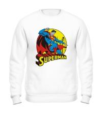 Свитшот Faster Superman