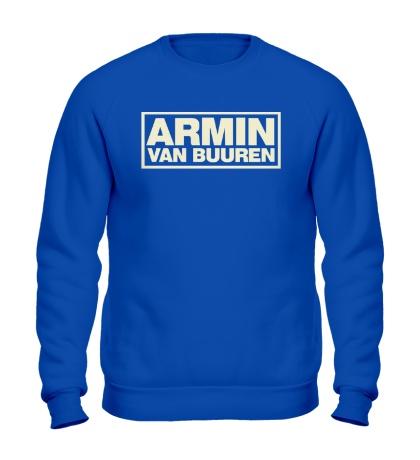Свитшот Armin van Buuren Logo Glow