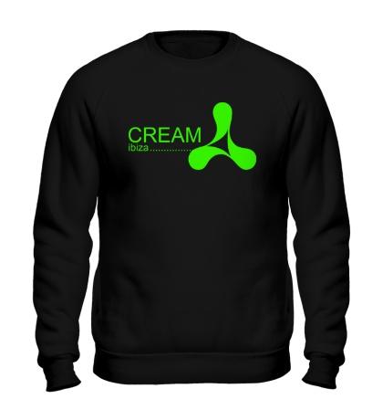 Свитшот Cream Ibiza Glow