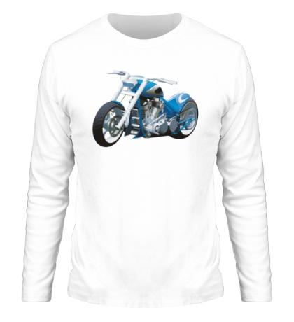 Мужской лонгслив Мотоцикл