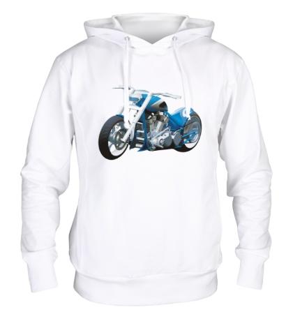 Толстовка с капюшоном Мотоцикл