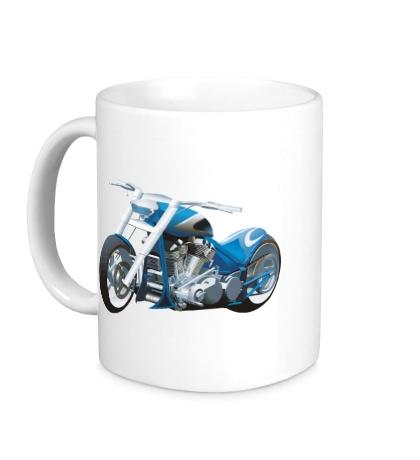 Керамическая кружка Мотоцикл