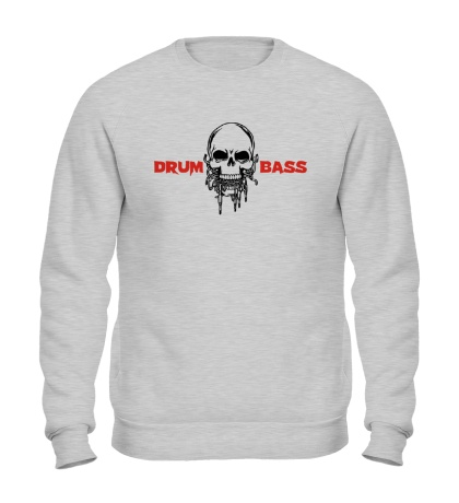 Свитшот Drum And Bass Череп
