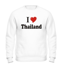 Свитшот I love thailand