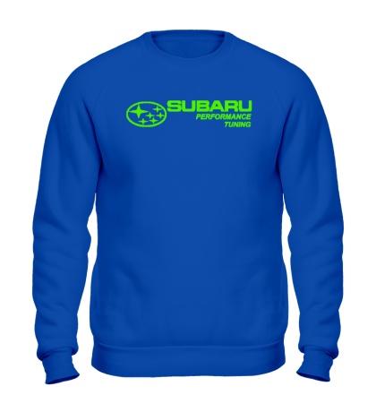 Свитшот Subaru Perfomance Tuning Glow