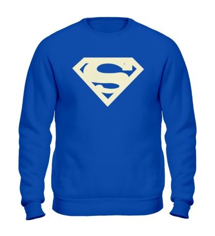 Свитшот Супермен, свет