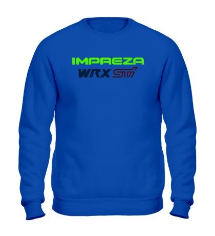 Свитшот Subaru Impreza WRX STI