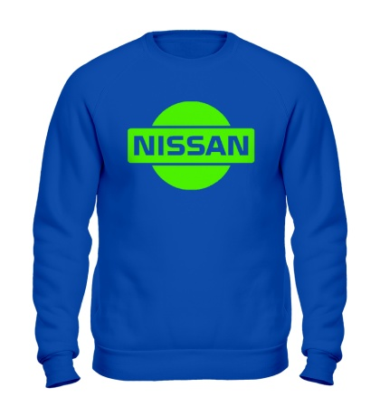 Свитшот Nissan Logo Glow