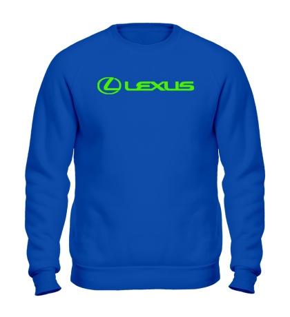 Свитшот Lexus Line Glow