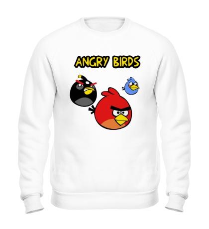 Свитшот Angry Birds Wars