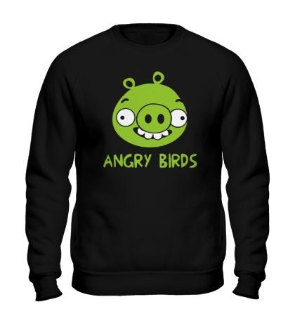 Свитшот Anrgy Birds: Green Pig