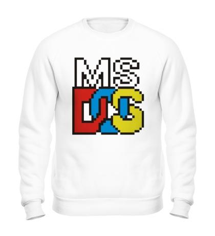 Свитшот MS DOS