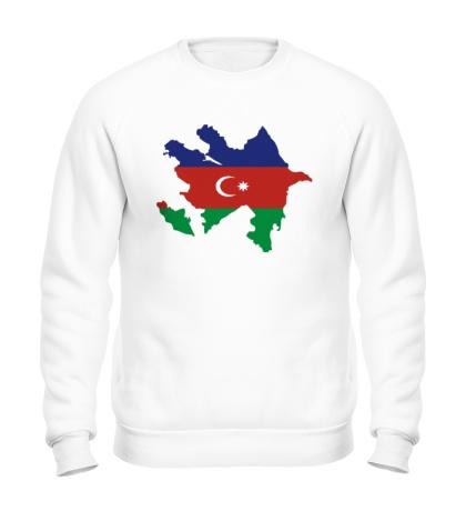 Свитшот Карта Азербайджана
