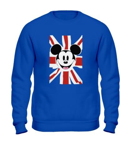 Свитшот Британский Микки Маус