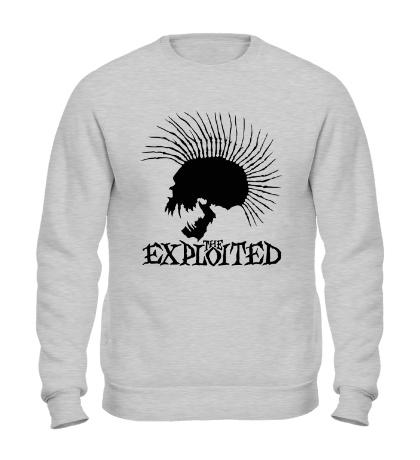Свитшот The Exploited Skull