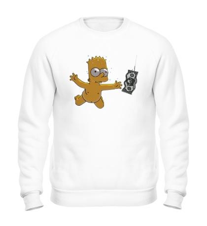 Свитшот Барт с долларом