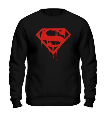 Свитшот Кровавый супермен