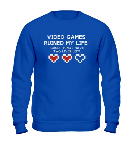 Свитшот 8-bit video games