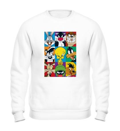 Свитшот Looney tunes poster