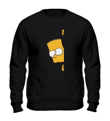 Свитшот Барт подглядывает