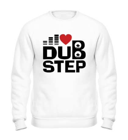 Свитшот Dubstep love