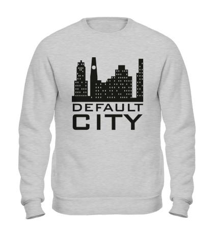 Свитшот Default city