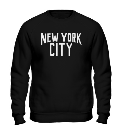 Свитшот «New York City»