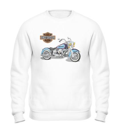 Свитшот Мотоцикл Харлей