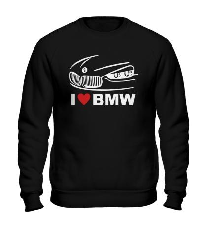Свитшот I love BMW