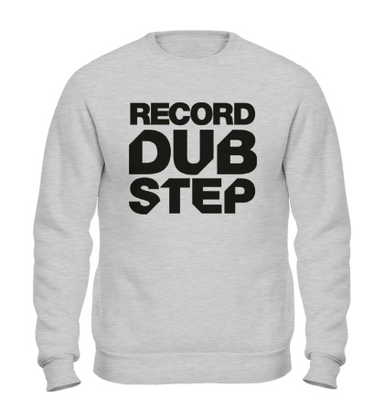 Свитшот Record Dubstep
