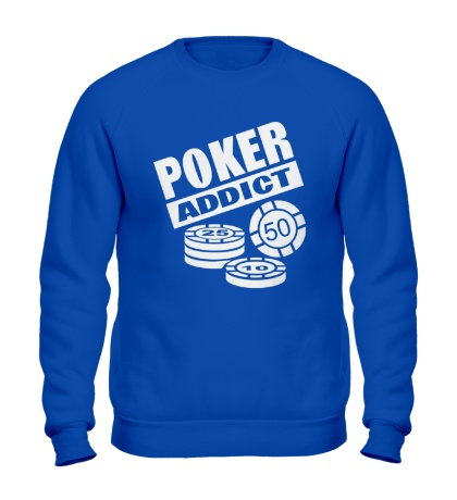 Свитшот Poker addict