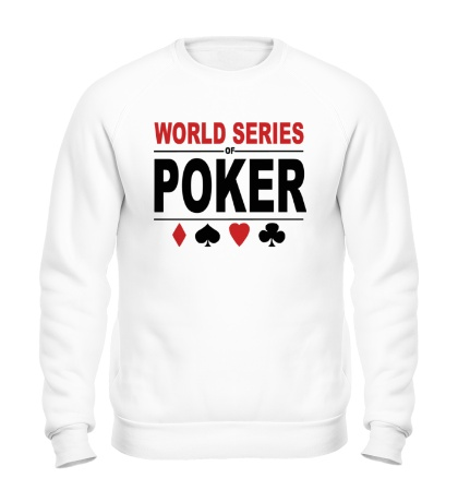 Свитшот World Series Poker