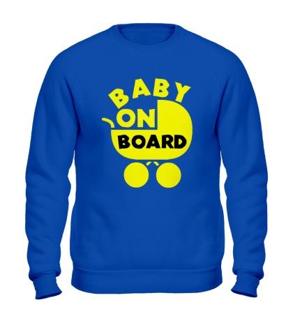 Свитшот Baby on board