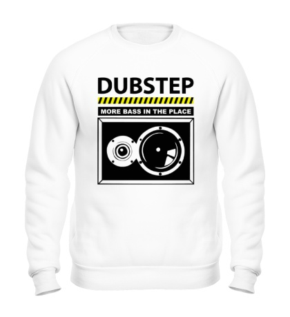 Свитшот Dubstep More Bass