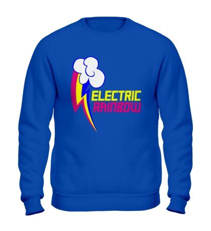 Свитшот Electric Rainbow